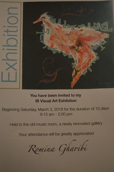 Romina Gharibi-Art Exhibition