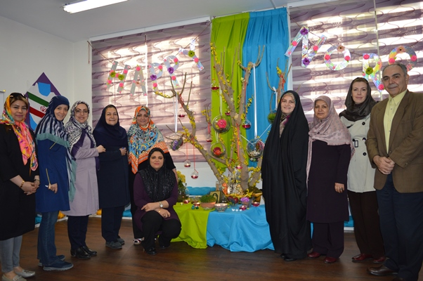 Nowrooz Ceremony in Elementary Section