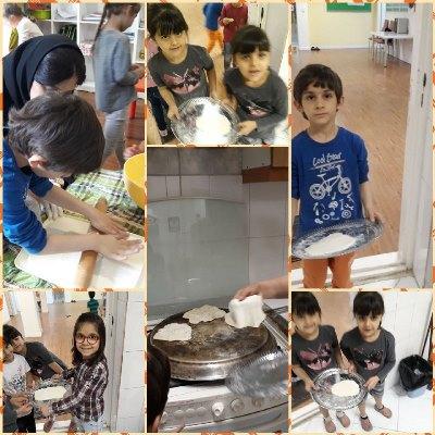 Bread Baking by KG2 Children