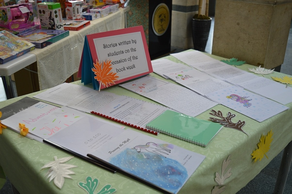 Student work exhibition on the occasion of Book Week