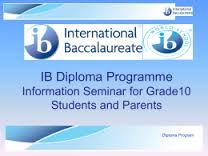 Introduction to IB Diploma Program Seminar